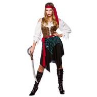 Sexy Carribische piraten jurk Tess