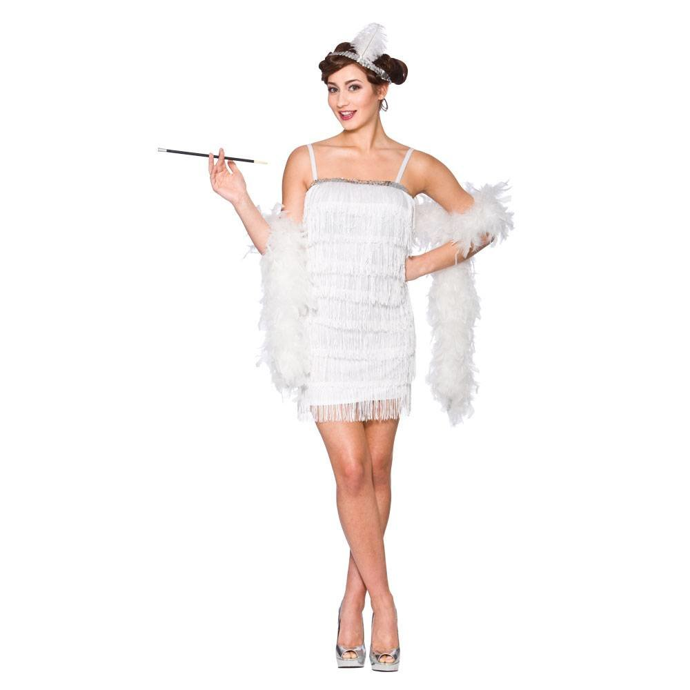 e1f4702a3d8b24 Charleston jurk Showtime in wit