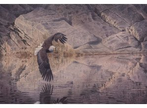 Reflection touch (97 x 67 cm)