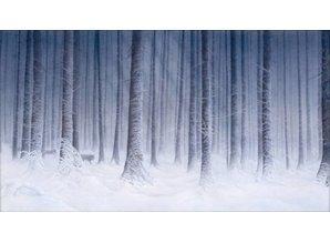 Frozen Forest (90 x 50 cm)