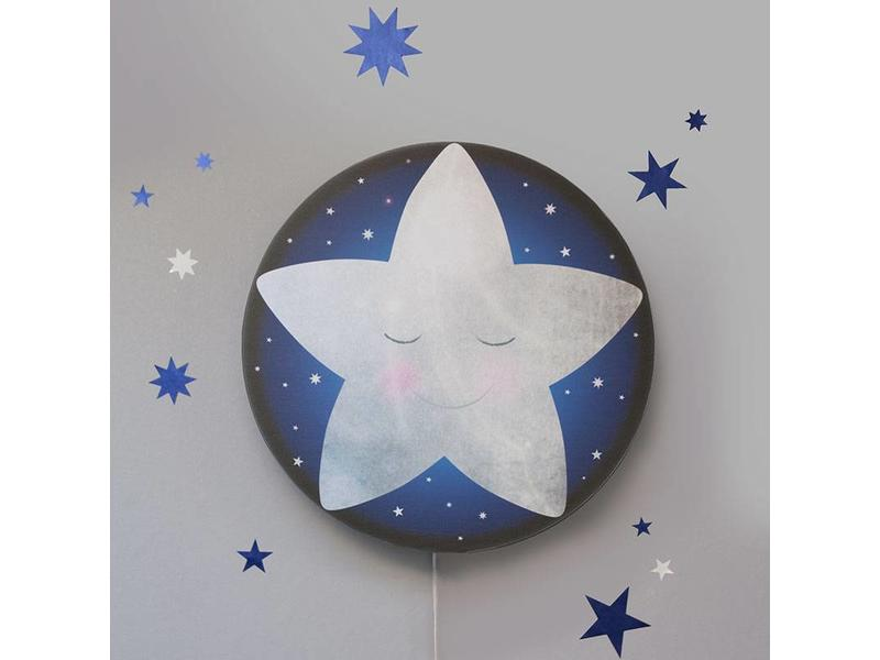 Starry Sky Stickers Midnight Blue