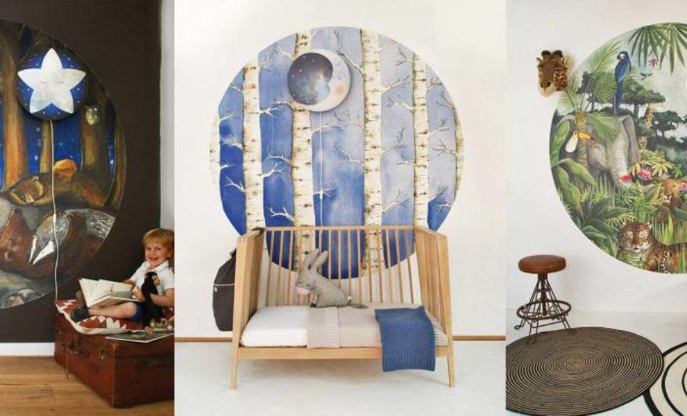 New collection 2017 - enchanting wallpaper cirkels