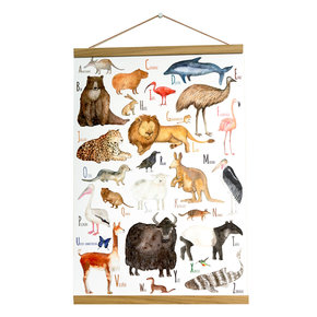 Tieren ABC