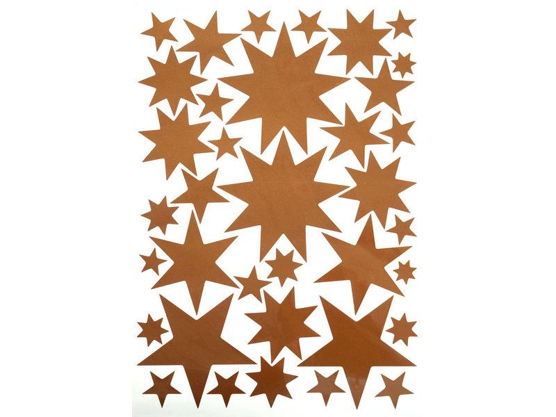 Starry Sky Stickers Copper