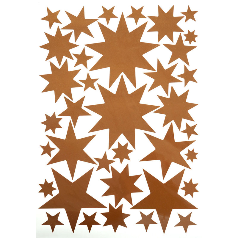 Starry Sky Stickers Copper