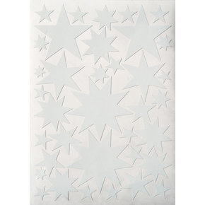 Starry Sky stickers White