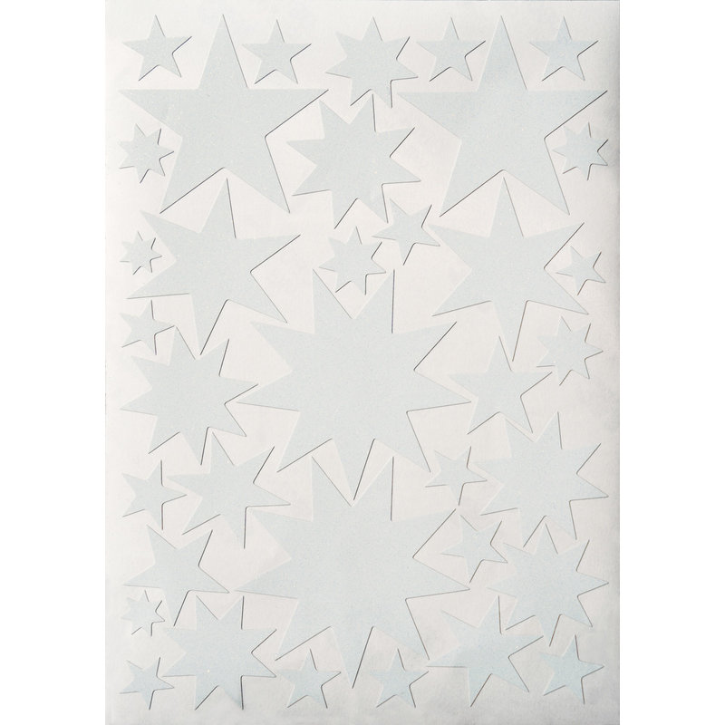 Starry Sky stickers White