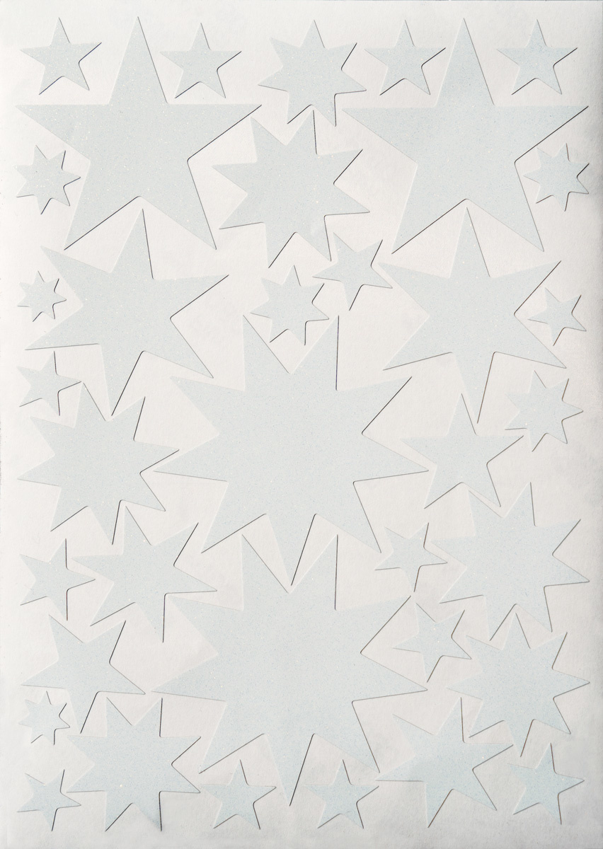 Starry Sky stickers White-1