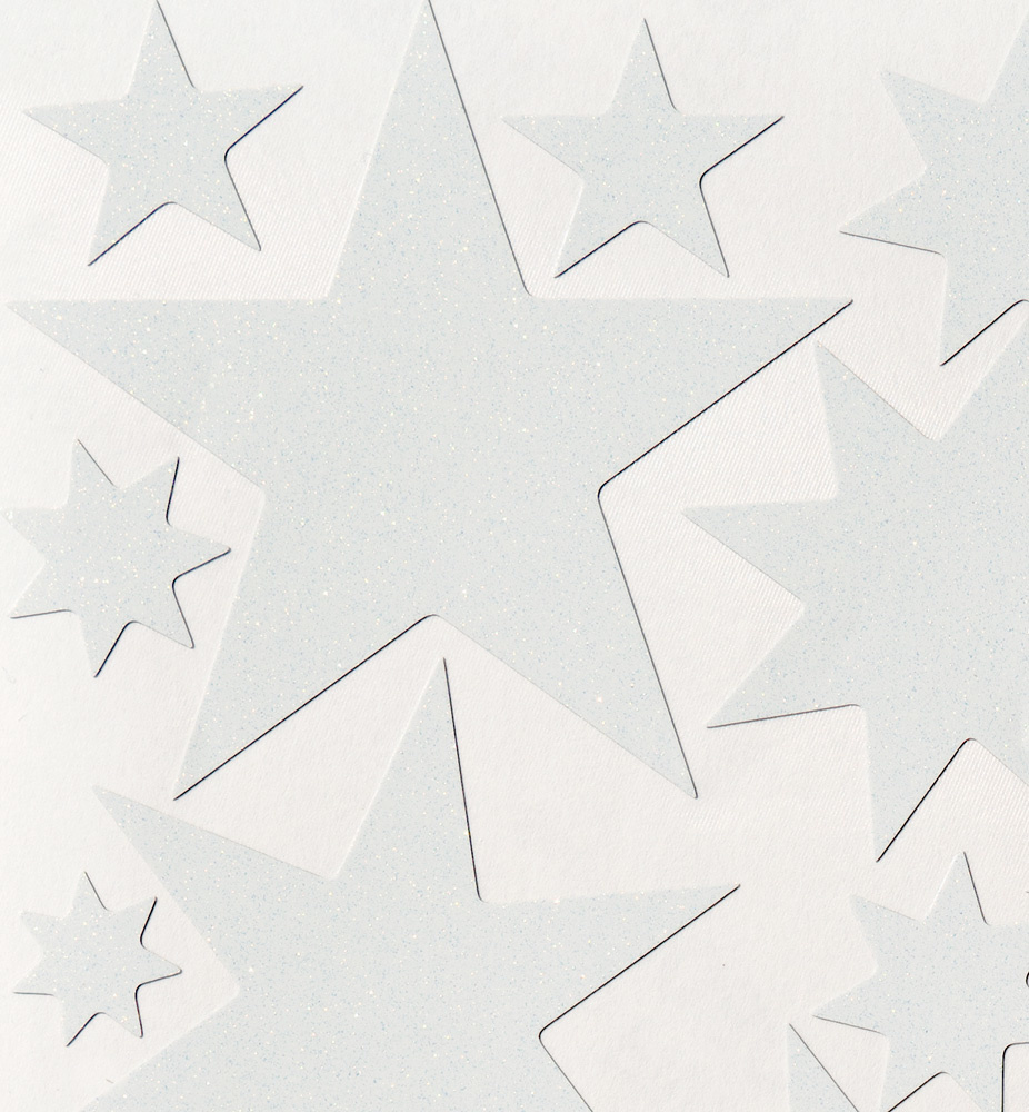 Starry Sky stickers White-3