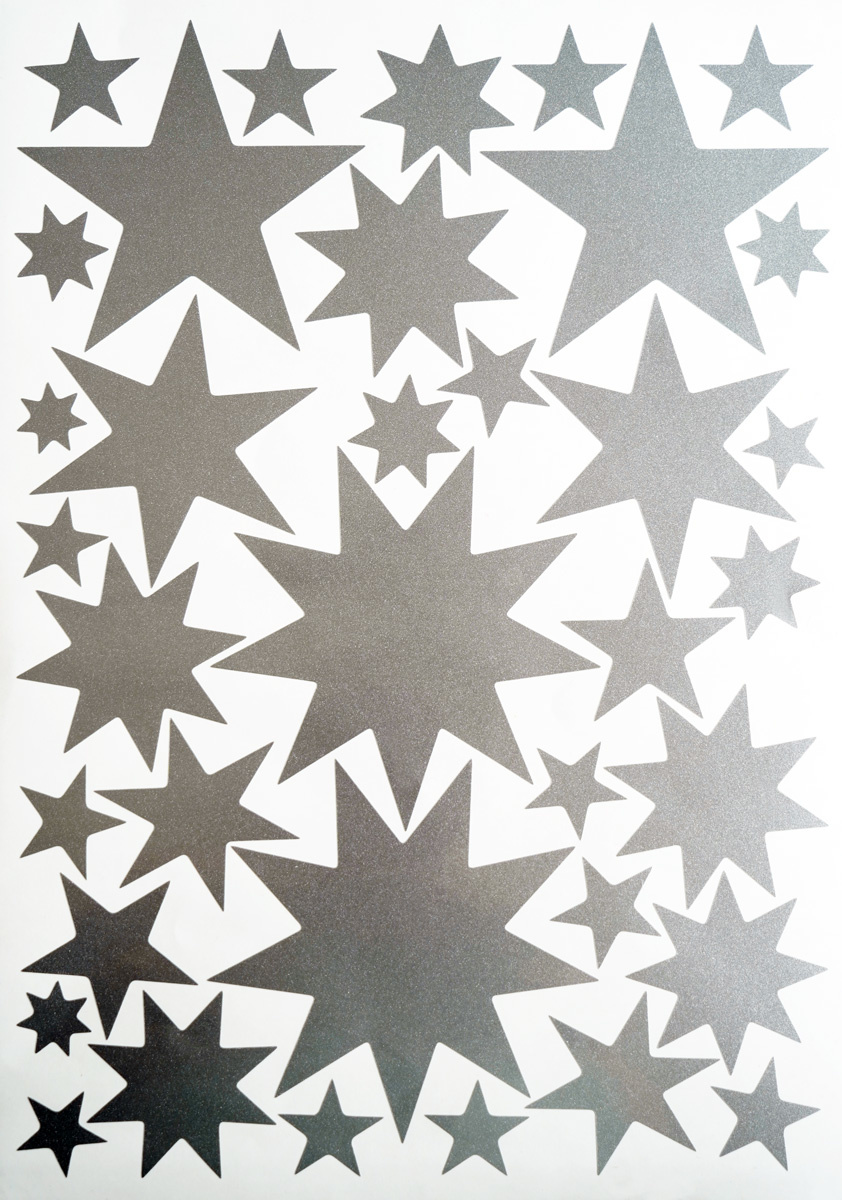 Starry Sky Stickers Silver-1