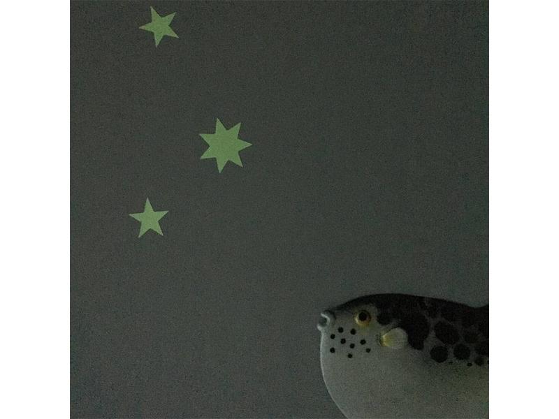 Sternensticker  Glow in the Dark