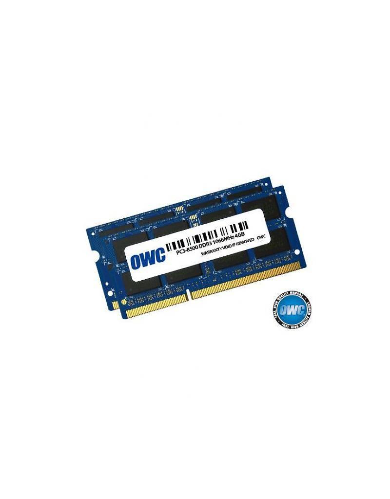 OWC OWC 8GB RAM Kit (2x4GB) SO-DIMM PC8500 1066MHz