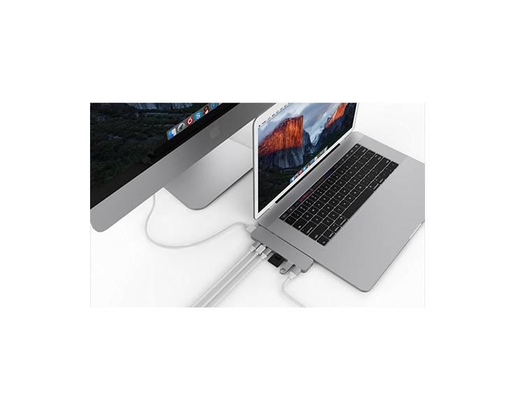 Hyper Hyper HyperDrive PRO USB-C Hub (Zilver)