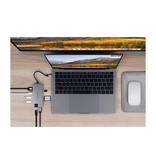 Hyper Hyper HyperDrive Slim 8-in-1 USB-C Hub (Spacegrijs)