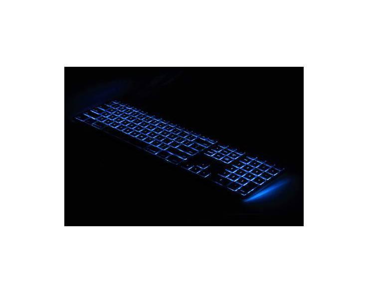 Matias Matias Bedraad Toetsenbord met RGB Backlight (Spacegrijs)
