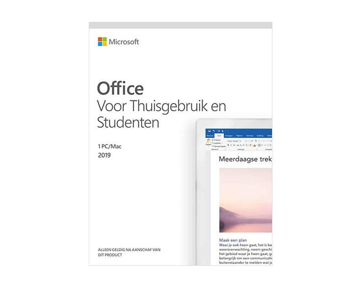 Microsoft Microsoft Office 2019 voor Thuisgebruik en Studenten
