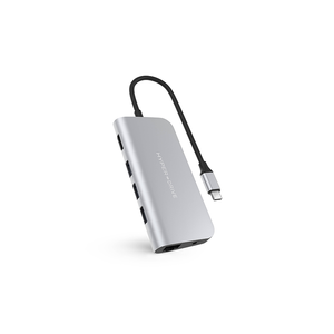 Hyper HyperDrive POWER 9-in-1 USB-C Hub (Zilver)