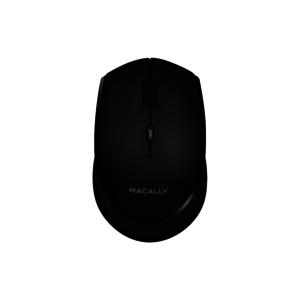 Macally Oplaadbare Draadloze Bluetooth Muis (Zwart)