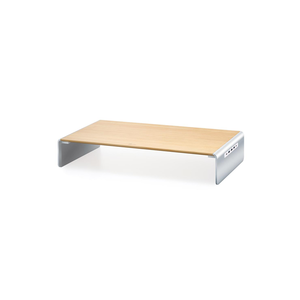 j5create Wood Monitor Stand met Docking Station