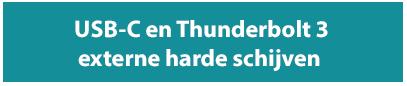 USB-C en Thunderbolt externe harde schijven