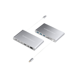 Hyper Ultimate USB-C Hub (Zilver)