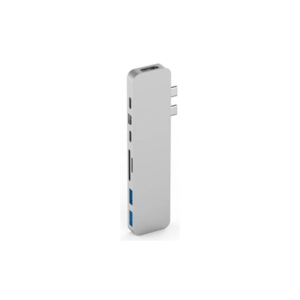 Hyper HyperDrive PRO USB-C Hub (Zilver)