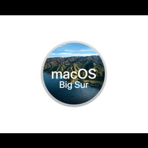 macOS Big Sur Installatie