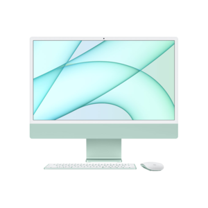 Apple iMac 24-inch M1 256GB (Groen) basis