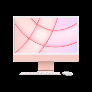 Apple iMac 24-inch M1 256GB (Roze) basis