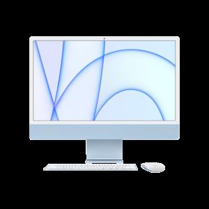 Apple iMac 24-inch M1 256GB (Blauw) midden