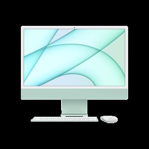 Apple iMac 24-inch M1 256GB (Groen) midden