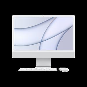 Apple iMac 24-inch M1 256GB (Zilver) midden