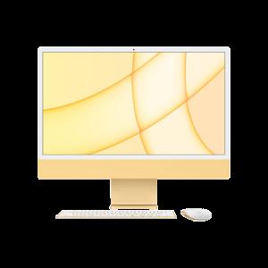 Apple iMac 24-inch M1 256GB (Geel) midden