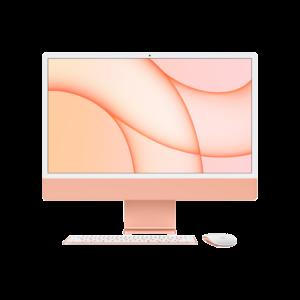 Apple iMac 24-inch M1 256GB (Oranje) midden