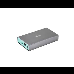 i-tec MySafe USB-C 3.5-inch Externe HD Behuizing