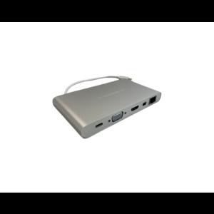 Hyper Ultimate USB-C Hub (Zilver) *Tweedekans*