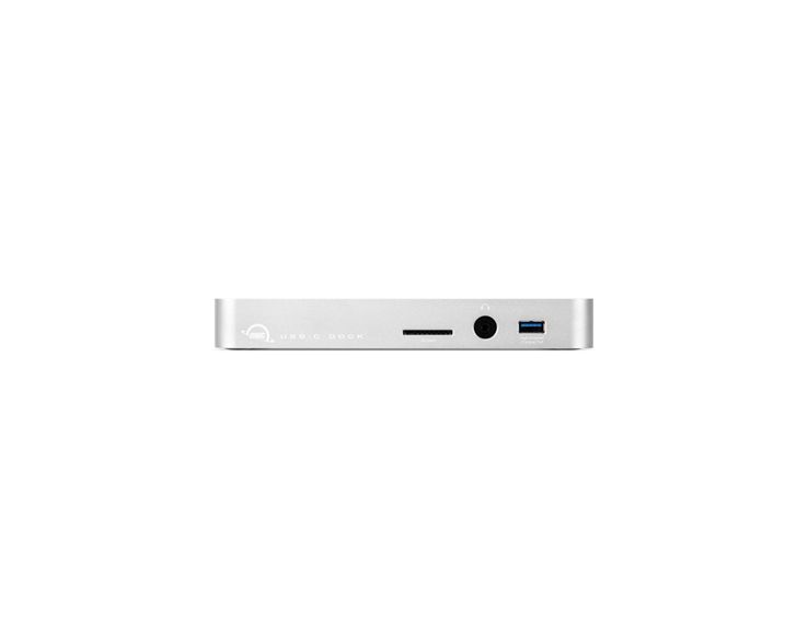 OWC OWC USB-C Dock zilver