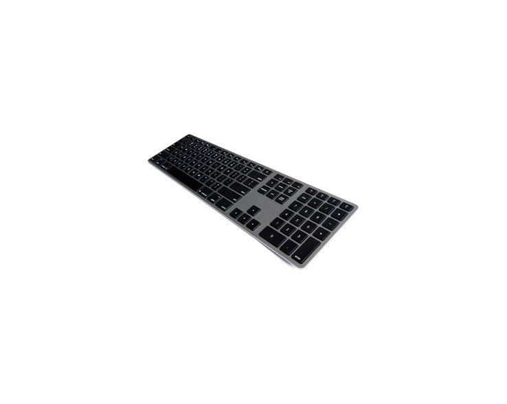 Matias Matias Draadloos Aluminium Toetsenbord voor Mac (Spacegrijs)