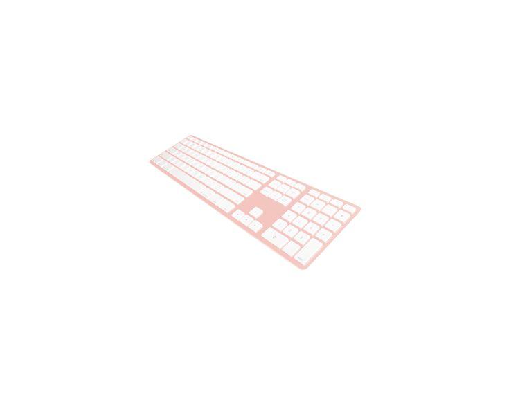 Matias Matias Draadloos Aluminium Toetsenbord voor Mac (Rosé Goud)