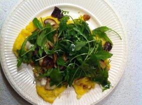 Polenta met gorgonzola