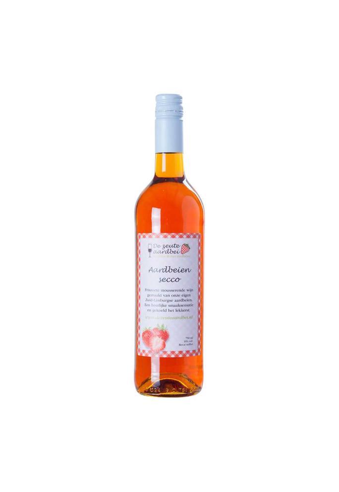 De Zeute Aardbei aardbeien secco 0,75l