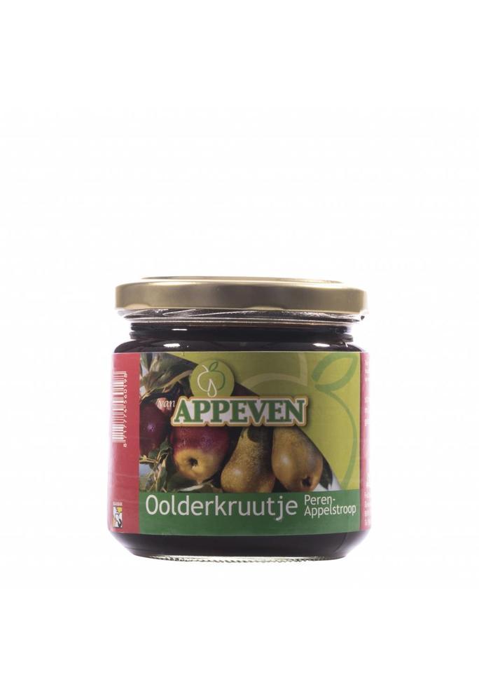 Van Appeven 2-peren/appel stroop 450 gram