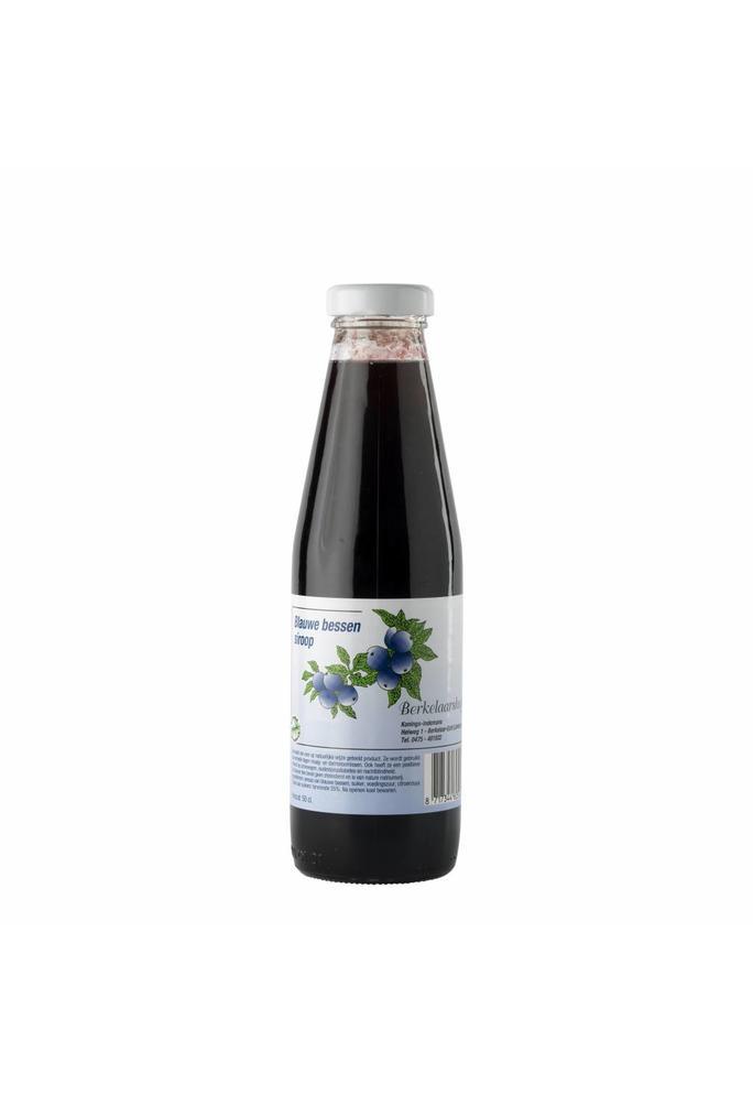 Berkelaarshof 2-blauwe bessensiroop 0,5 liter