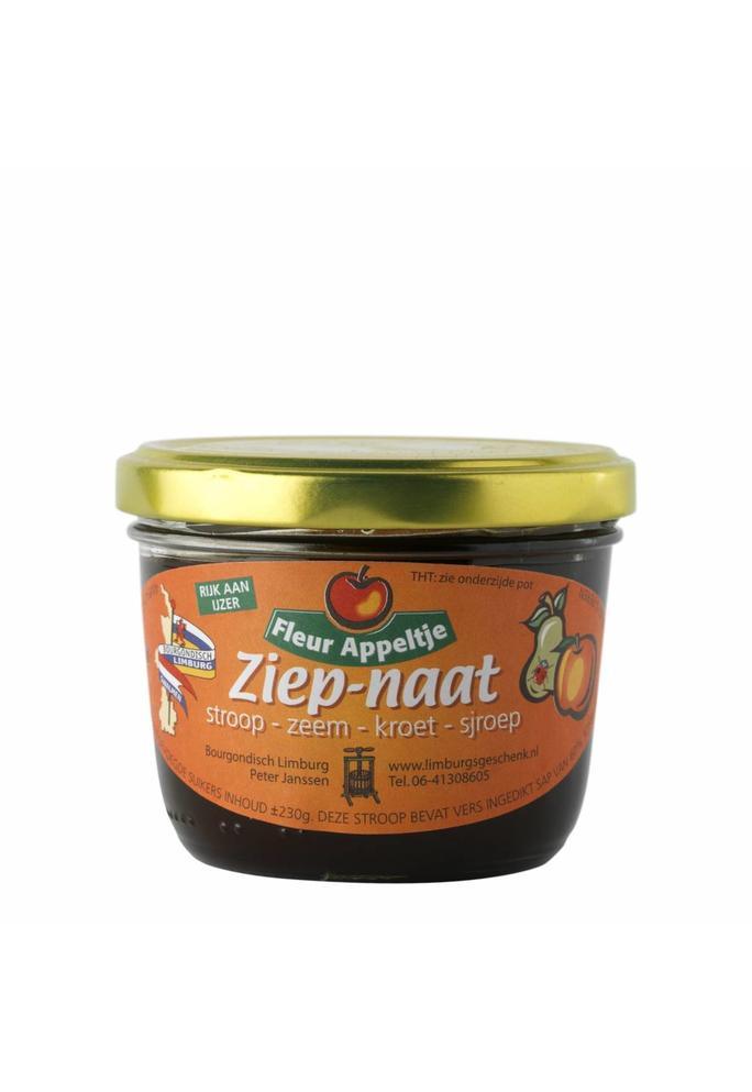 Bourgondisch Limburg Ziep-naat Appelstroop 230g
