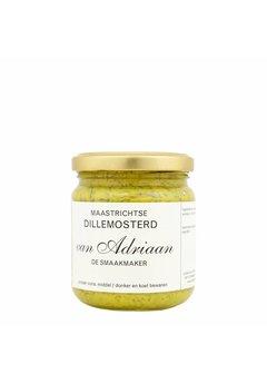 Adriaan de Smaakmaker Dille mosterd, 200g