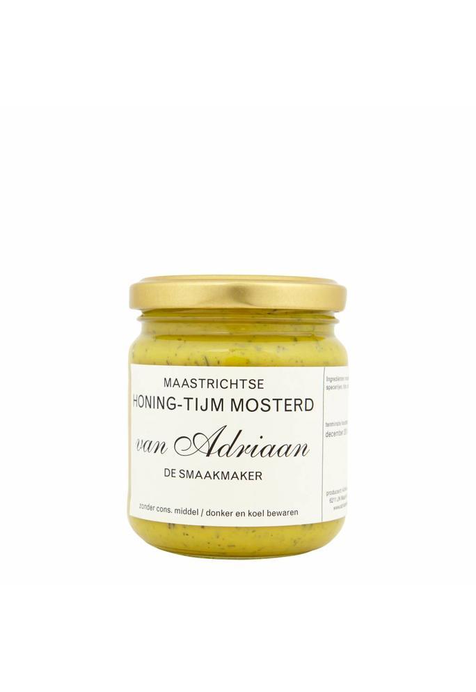 Adriaan de Smaakmaker honing tijm mosterd 200 gram
