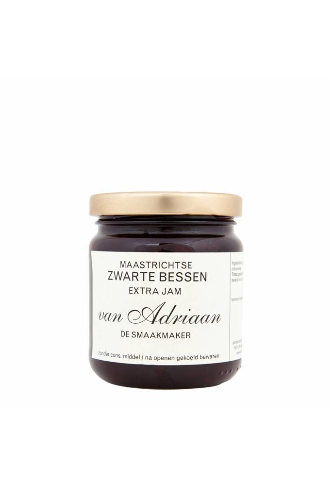 Adriaan de Smaakmaker 2-zwarte bessenjam 225 gram