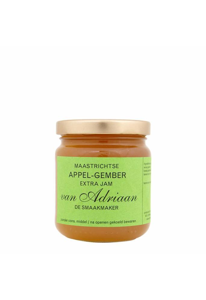 Adriaan de Smaakmaker Appel gember jam 225 gram