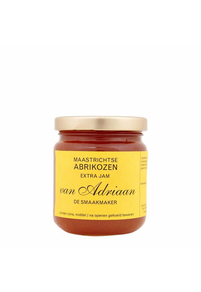 Adriaan de Smaakmaker 2-abrikozen jam 225 gram