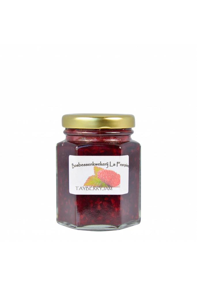 Bosbessenkwekerij La Française 2-Tayberry jam La Française (50 gram, 135 gram of 325 gram)
